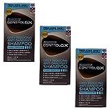 Just for Men Control GX - Champú anticaspa y reductor de canas para hombres (3 unidades).