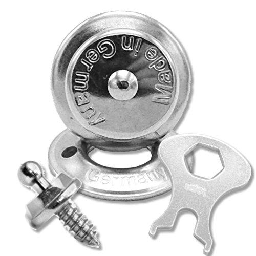10 x LOXX Druckknopf Schraube Schlüssel Plane Cabrio Boot Persenning Verschluss