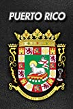 Puerto Rico: Coat of Arms | 2020 Weekly Calendar | 12 Months | 107 pages 6 x 9 in. | Planner | Diary | Organizer | Agenda | Appointment | Half Spread Blank Pages