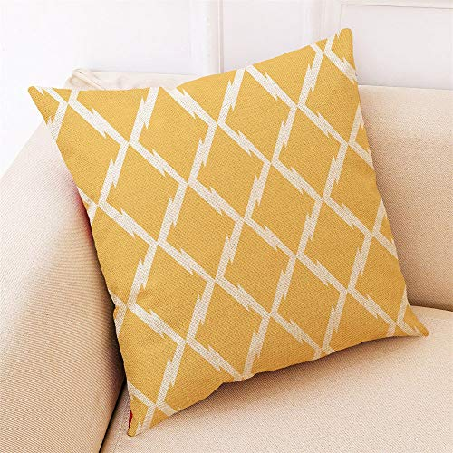 Nyfcc Pillowcase, Home Decor Cushion Cover Love Geometry Throw Pillowcase Pillow Covers NEW, Home & Garden (Color : I, Size : -)