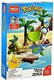 Mega Construx Pokemon Combat Tiplouf contre Tortipouss, jeu de construction, 120 pièces, pour enfant dès 6 ans, GCN13