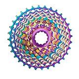 Montaña Bicicleta Freewheel Montaña Bike Flywheel 11 Velocidad Colorida 11-28T / 32T / 34T / 36T Cassette de Velocidad Transmisiones de Bicicletas Accesorios