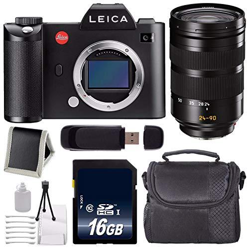 Review Of Leica SL (Typ 601) Mirrorless Digital Camera (International Version) + Leica Vario-Elmarit...