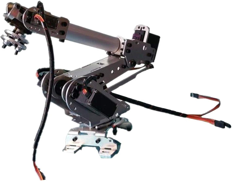 Almencla 6-DOF DIY BT Control Robot Arm Clamp Model for Arduino