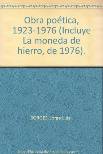 Obra poética, 1923-1976 (Incluye