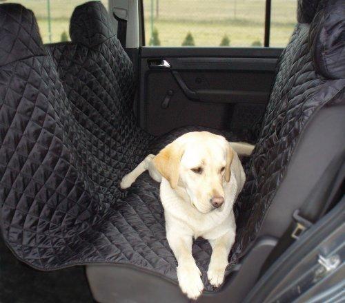 tierlando Autoschondecke MAX Auto Hundedecke Schutzdecke 160 180 200cm x 140cm Größe: SM 200 cm | Farbe: 02 Graphit