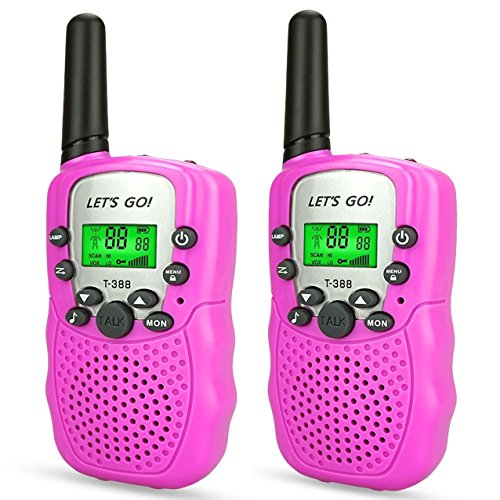 Girls Games Age 3-12, DIMY Walkie Talkies for Kids Girls Toys for 3-12 Year Old...