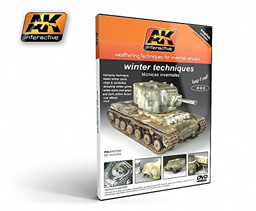 AK Interactive DVD - Winter Weathering Techniques # 035