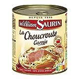 WILLIAM SAURIN - Choucroute Garnie Au Vin Blanc 800G - Lot De 4