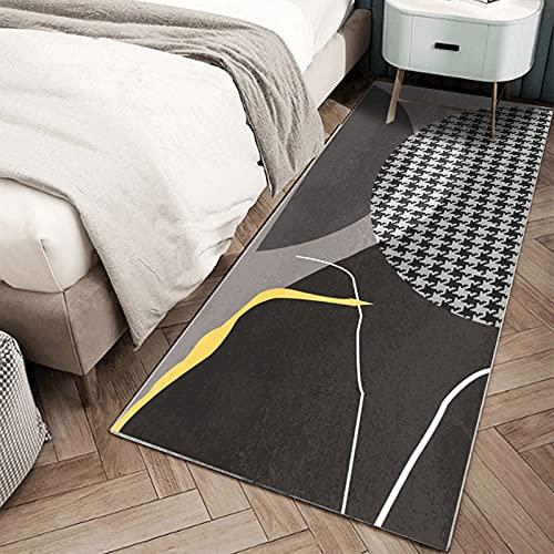 ZZUU Hallway Rug Runner - Modern Geometric Patterns - Runner Rugs For Hallway Bathroom Living Room Bed Runner Kitchen Rugs Runner Mats