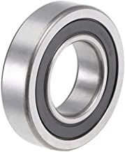 uxcell R16-2RS Deep Groove Ball Bearing 1-inchx2-inchx1/2-inch Double Sealed Chrome Steel Bearings