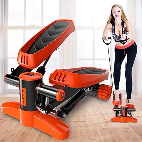 CPAZTMini Laufband Stepper Pedal Haushalt Ruhige hydraulische Treppensteiger Home Fitnessgeräte für Gewichtsverlust Bein AbnehmenLila