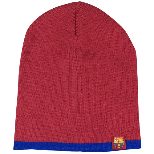 Football Club Cuff inverse Barcelone Knitted Hat