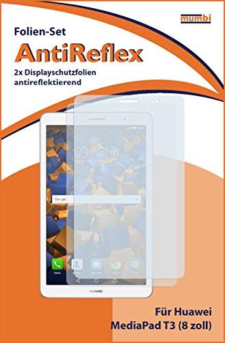 mumbi Schutzfolie kompatibel mit Huawei MediaPad T3 8.0 Folie matt, Displayschutzfolie (2X) - 2