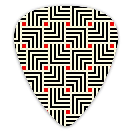 Patrón de mosaico japonés Art Deco Premium Picks (paquete de 12) para...