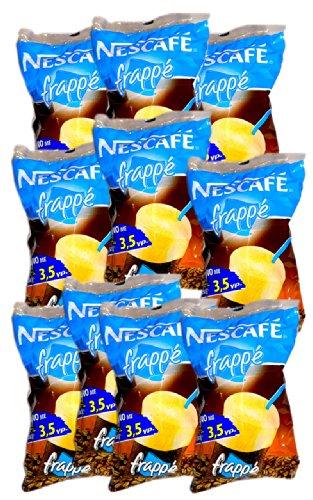 10er Pack Nescafe Frappe ready to go Set (10 x Frappe to go Packungen)