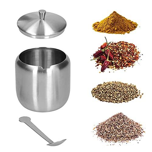 Azucarero, recipiente para azúcar fácil de usar para glutamato monosódico para azúcar para almacenar sal