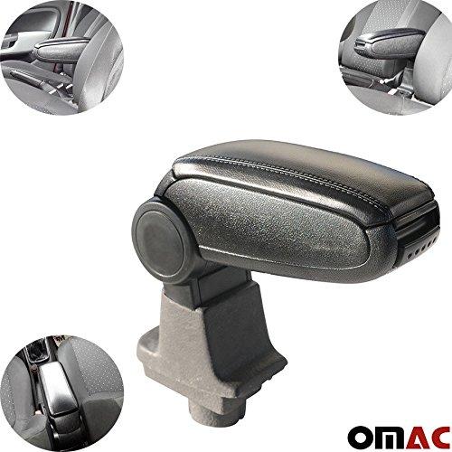 Omtec 2508603 Box Bracciolo, Nero
