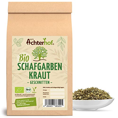 Schafgarbenkraut BIO (500g) | Schafgarbentee | Schafgarbe Tee | organic yarrow herb vom Achterhof