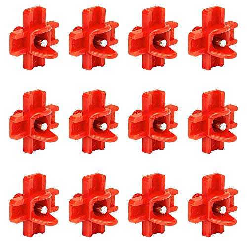 DoubleWood 12Pcs Chicken Nipples Horizontal Side Mount Poultry Water Nipple Waterer Drinker Outdoors for Chicken Ducks Quail and Other Poultry (12)