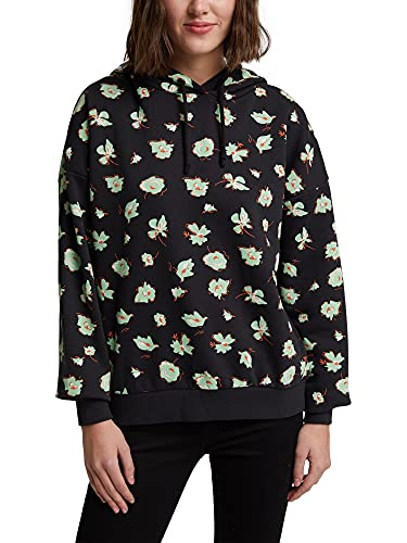 edc by ESPRIT Damen 110CC1J308 Sweatshirts, 001/BLACK, S