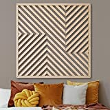 Other Furniture Wood Wall Art Decor Panel- Modern Wooden Wall Art- Large Wood Wall Art- Geometric Wood Wall Panel- Rustic Wood Wall Art- Wooden Wall Hanging