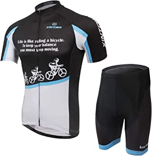 Unkoo Clothing Maillot Ropa Ciclismo Racing Bike Clothes Ciclismo Hombre Cycling Jersey Pro Team Summer Mtb Bycicle Short ...