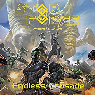 Star Force: Endless Crusade audiobook cover art