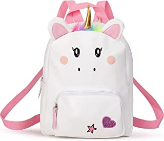 حقيبة ظهر يونيكورن للفتيات، حقائب ظهر صغيرة للأطفال، حقيبة أطفال لرياض الأطفال