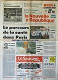 NOUVELLE REPUBLIQUE (LA) [No 14321] du 18/11/1991 - COUPE DE...
