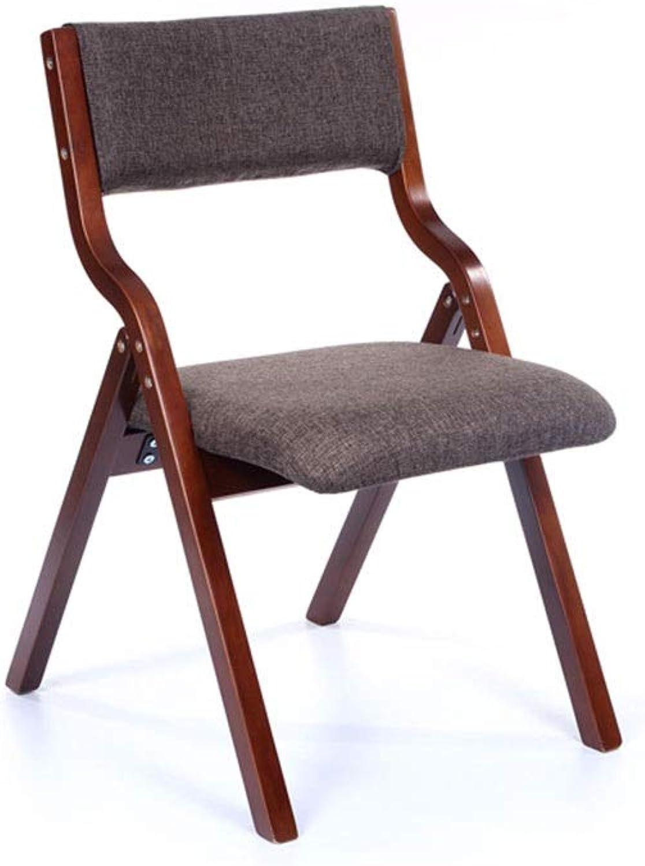 venta DEI QI Silla Plegable Hogar Moderno Minimalista Nordic Dining Dining Dining Chair Silla de Escritorio Silla para discutir Café Madera Ocio (Color   Marrón)  promociones de equipo