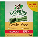 GREENIES Grain Free Regular Natural Dog Dental...