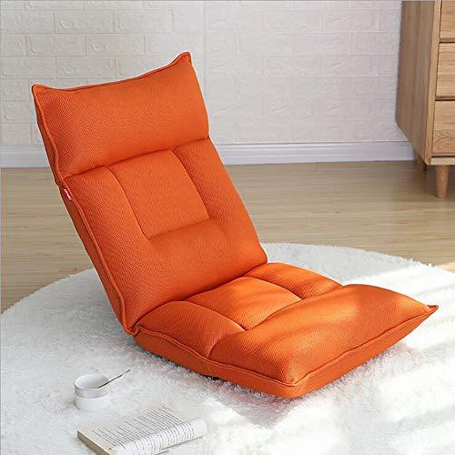 Lazy Sofa, Stuhl, Tatami Folding Einzel Stuhl Kleines Sofa Bett-Schlaf Computer Stuhl Schlafzimmer Balkon Erkerfenster Zurück Sofa,C