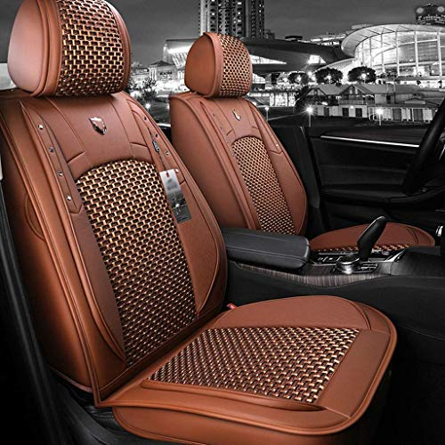 Fundas de Asiento de Coche de Cuero universales de Calidad para Dacia Todos los Modelos Duster Sandero Logan Dodge Challenger Ram Rampage Calibre Nitro Neon Caravan Journey Dart Avenger.