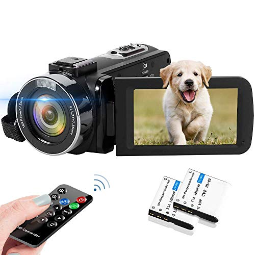 Video Camera 2.7K Camcorder 42MP 18X Digital Camera Video Camera for...