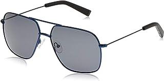 نظارة شمسية للرجال من نوتيكا، لون اسود، 60 ملم - N4640SP