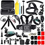 Soft Digits 50 in 1 Action Camera Accessori Kit per GoPro Hero...