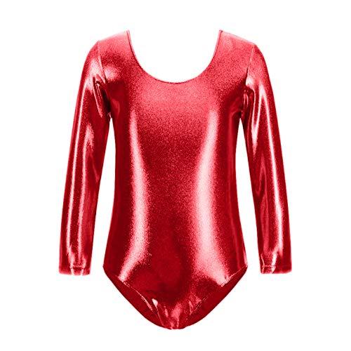 furein Maillot de Danza Ballet Gimnasia Leotardo Body Clási