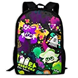 Spla-toon Children School Book Bag Kids Computer Backpacks for Boys Girls