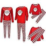 Pijama Familiar de Navidad Invierno Dos Piezas Pantalon y Camiseta Conjunto Mama...