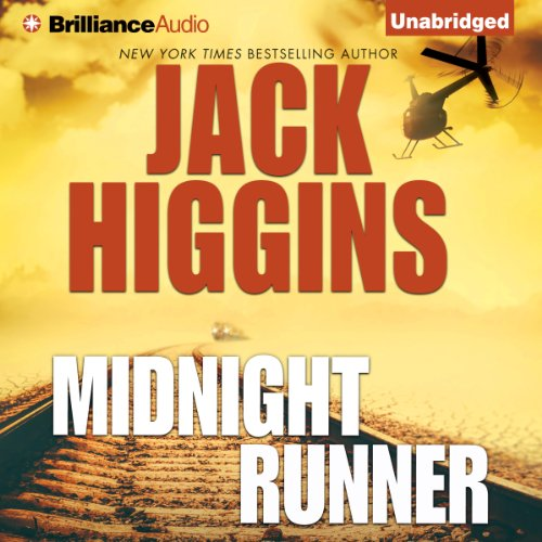 Midnight Runner audiobook cover art
