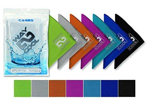 Forma 2Cool malla refrigeración toalla, Azul
