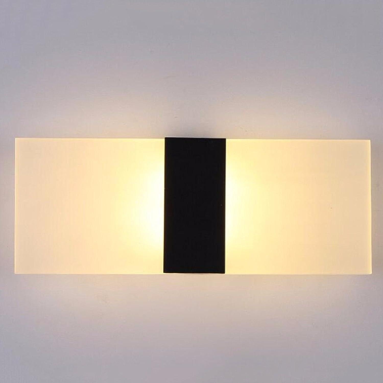 StiefelU LED Wandleuchte nach oben und unten Wandleuchten Wand lampe Nachttischlampe Schlafzimmer Wohnzimmer Korridore durch Wnde Licht balkon Treppe Licht B-LED