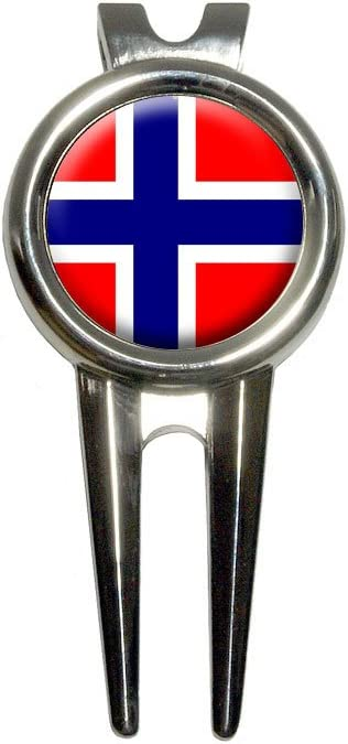 Norway Mesa Mall Norwegian Flag Golf Divot Tool and Popular shop is the lowest price challenge Marker Repair Ball