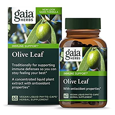 Single Herbs - Olive Leaf 60 vcaps