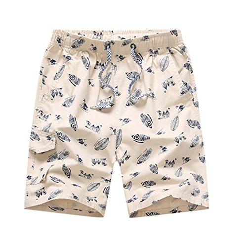 Black Temptation Short en Coton Shorts décontractés Pantalons Courts pour Hommes Short de Voyage pour Hommes, C