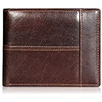 Swallowmall RFID Genuine Leather Bifold Men's Wallets (various colors)