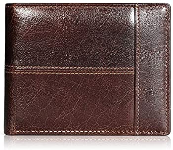 Swallowmall RFID Genuine Leather Bifold Men's Wallets