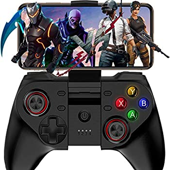 Mobile Game Controller Megadream Wireless Key Mapping Gamepad Joystick Perfect for PUBG & Fotnite & Call of Duty Compatible for iOS Android iPhone iPad Samsung Galaxy - Do Not Support iOS 13.4