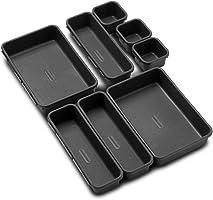 Made Smart Value 8-Piece Interlocking Bin Pack - Granite | VALUE COLLECTION | Customizable Multi-Purpose Storage |...